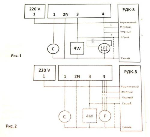 Зимний комплект на кондиционер схема