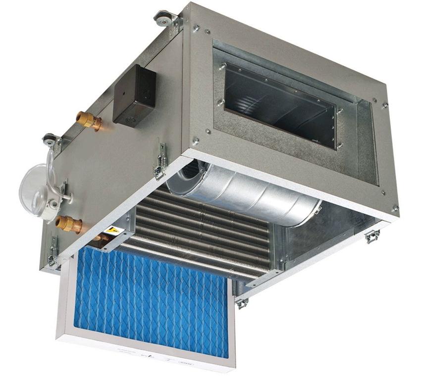 Потолочный тепловентилятор отопления