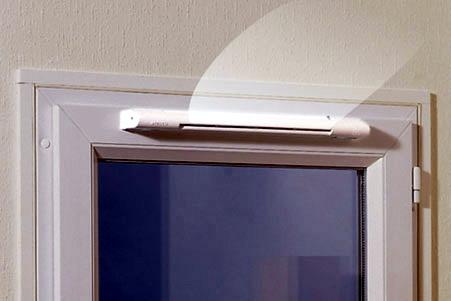 приточный клапан в окне