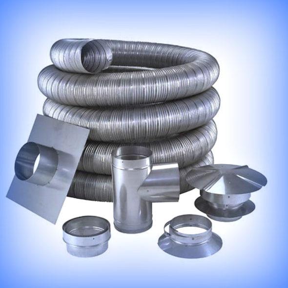 гибкий металлический воздуховод