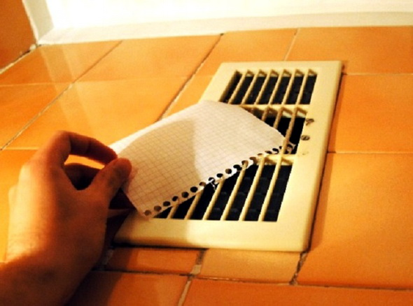 проверка вентиляционного канала