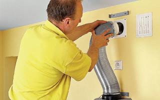 Вытяжка для газовой колонки в квартире или частном доме