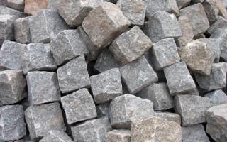 Где используется бутовый камень