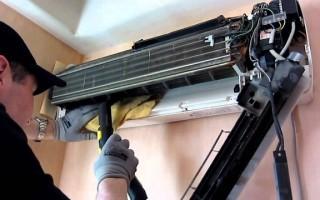Как почистить кондиционер самостоятельно в домашних условиях