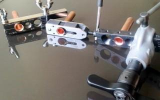 Набор необходимых инструментов и расходных материалов для установки кондиционера