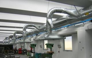 Классификация промышленной вентиляции, особенности ее применения