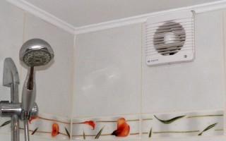 Вентиляция в ванной комнате и туалете: как наладить воздухообмен в санузле