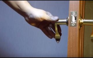 Выбор и правила ухода за замками для межкомнатных дверей