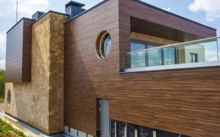 Достоинства фасадов с вентиляцией