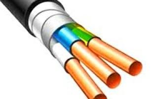 Практичность применения бронированного кабеля вббшвнг