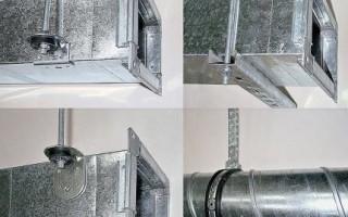 Монтаж гибких воздуховодов: инструменты и этапы