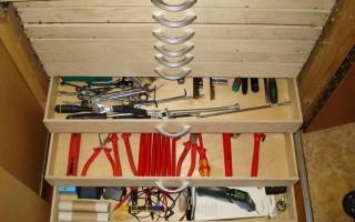 Обустройство домашней мастерской в многоквартирном доме