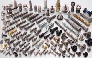 Классификация металлического крепежа