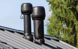 Дефлектор вентиляционный – вытяжное устройство на трубу