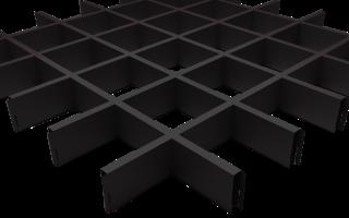 Преимущества использования подвесного потолка grigliato