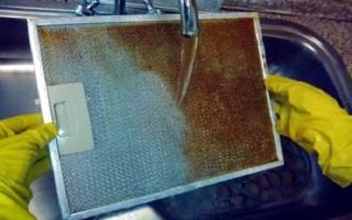 Советы по очистке решетки вытяжки от жира