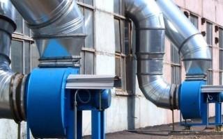 Виды вентиляционных промышленных систем
