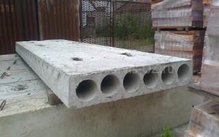 Практичность использования железобетонных плит перекрытия
