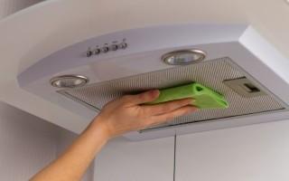 Как очистить фильтр вытяжки от жира: обзор рецептов отмыть кухонный прибор