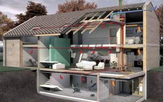 Особенности установки вентиляции из пластиковых труб в частном доме