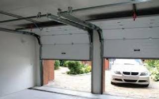 Секционные ворота для гаражей
