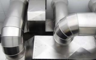 Оцинкованные трубы для вентиляции: как выбрать, как установить