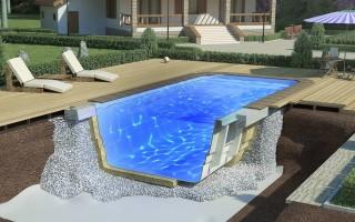 Особенности и преимущества композитных бассейнов