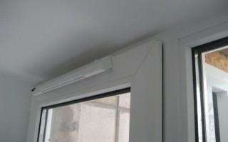 Приточный клапан на пластиковые окна: советы, виды, установка