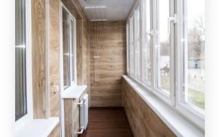 Профессиональный ремонт балкона или лоджии