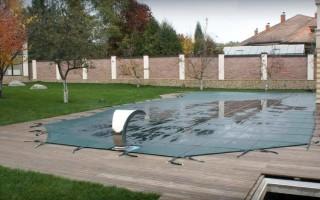 Как закрыть бассейн на улице