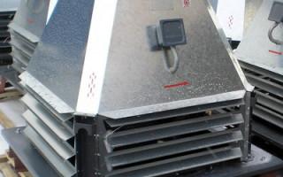 Основные разновидности вентиляторов дымоудаления