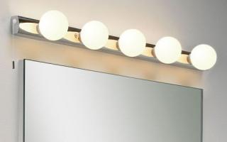 Светильники для ванной комнаты — нужные вещи в каждом доме