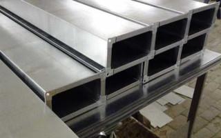 Практичность современных прямоугольных оцинкованных воздуховодов