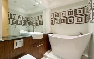 Визуально увеличиваем пространство в ванной комнате