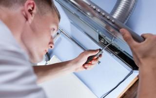 Пошаговая инструкция по ремонту кухонной вытяжки