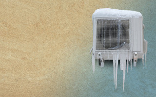 Допустимая температура для работы кондиционера в холодный период