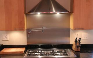 Правила установки вытяжек над газовыми плитами
