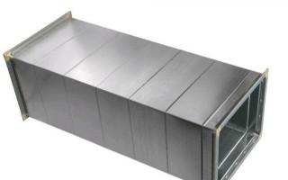 Воздуховоды из оцинкованной стали: особенности изготовления и монтажа, разновидности сечений для отвода