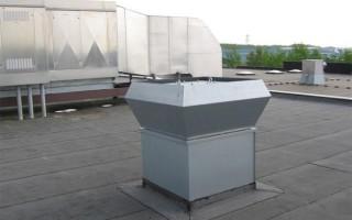 Стакан для крепления крышных вентиляторов