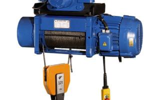 Электрический тельфер – практичность применения