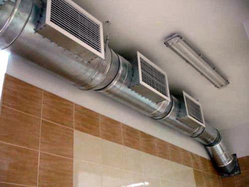 статическая система вентиляции