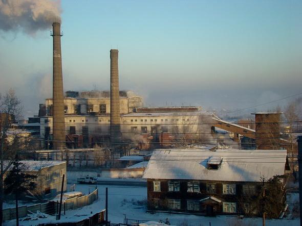 завод в черте города