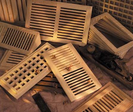 деревянные решётки