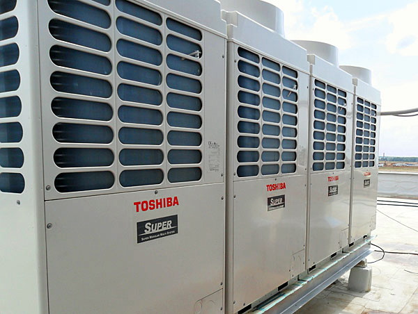 наружные модули Toshiba