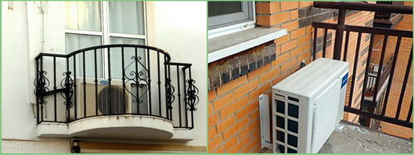 мало пространства на балконе