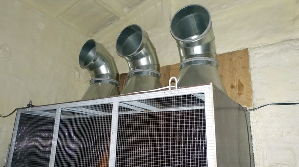 приточные воздуховоды