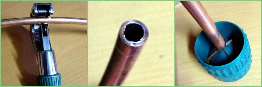 зенковка трубы